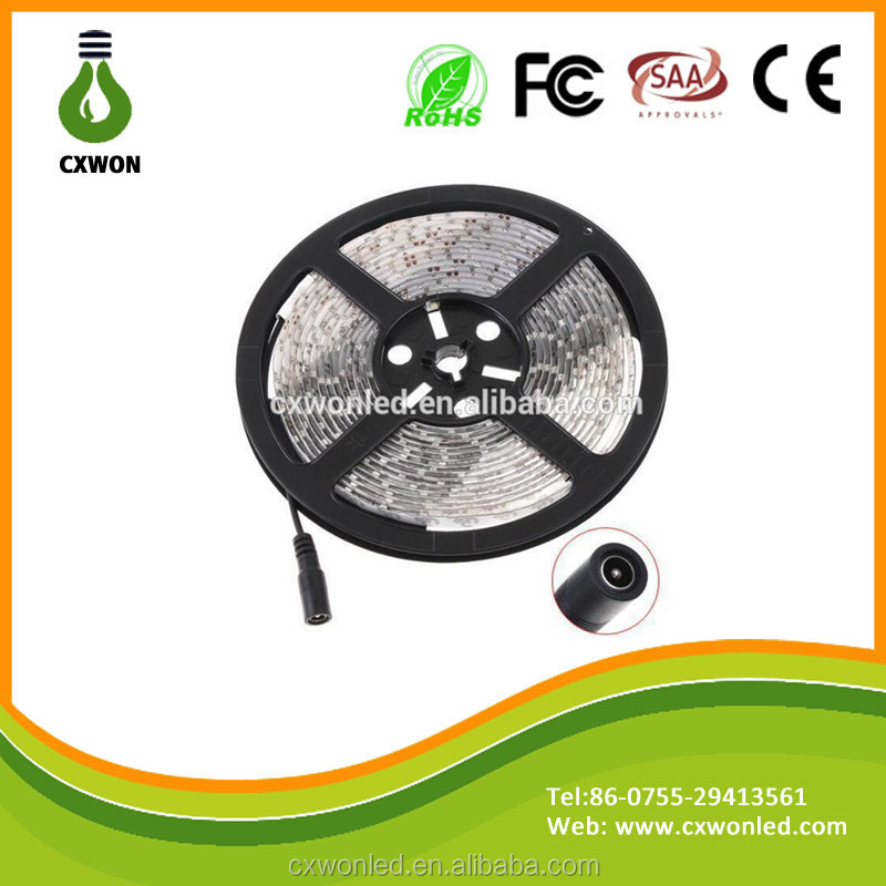 New product high quality waterproof IP65 PVC designed Flex Led Strips warm white/cool white CE Rohs DC12v led strip