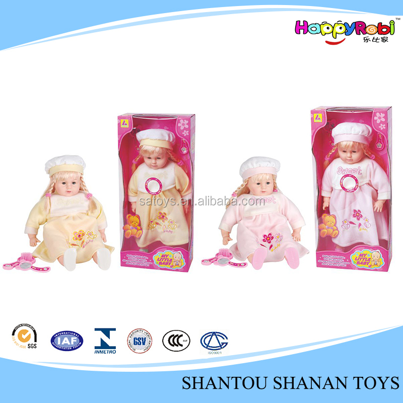 Hot saling baby singing lifelike baby dolls for children