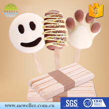 Eco-friendly healthy art ice cream sticks with cheap price