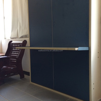 wall bed with table mechanism