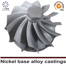 Car Turbo Parts Vacuum Casting Turbine Wheel,Customized