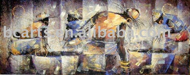 hot sex africa woman oil painting,Modern abstract art painting oil on canvas, home decoration wall chart wholesale