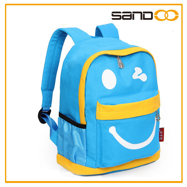 2017 Hot Design Heavy Duty Canvas Backpack Bag With Light Weight For Student