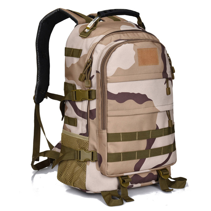 60L Pattern Velcro Fire Proof Army Tactical Military Backpack