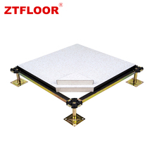 Professional raised access flooring for electronical computer rooms use with low price
