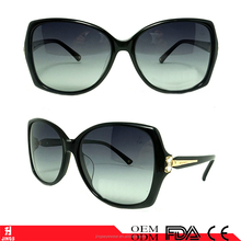 China custom high quality butterfly acetate sunglasses for women