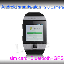 High Quality gps android smart phone watch with Bluetooth and GSM quad-band 850\900\1800\1900 by china wholesale price