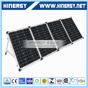 China manufacture 200w mono folding 80W 120W 160Wp 200 Watt 12V 200w mono portable solar panel