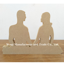 2017 High quality Kids Baby Educational for Boys Girls DIY Wooden laser cutouts carving arts crafts Toys