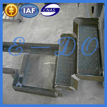 Custom sheet metal punched fabrication dalian factory with 21 years experiences