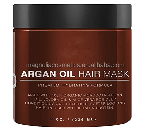 Private Label Hair Care Argan Oil Hair Mask