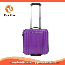 Hard Shell Laptop Luggage Trolley For Airport Cabin