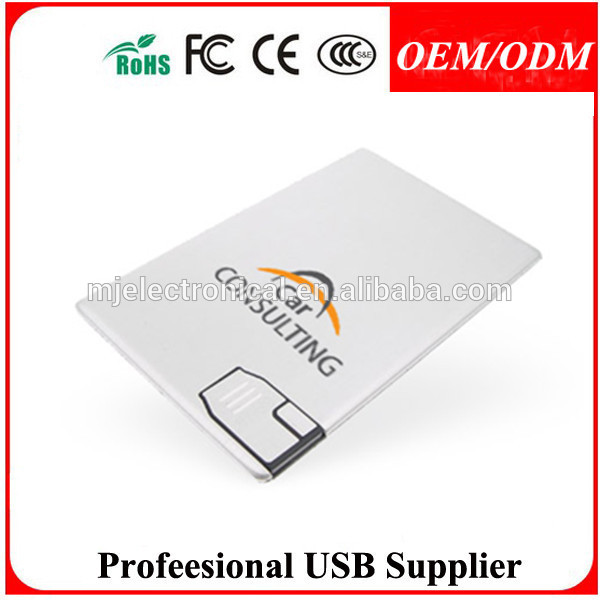 promotion gift best selling OEM credit card usb as coporate gifts