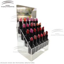 Weitu best clear cheap lipstick display stand acrylic lipstick organizer