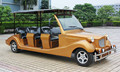 8 seats Electric classic car mini bus with AC system