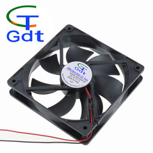 GDT 12V 36V 48V 24Volt DC High Flow Fan 12V 120x120x25mm 120MM