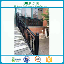 Decorative Interior Removable Steel Stairs Railing Designs
