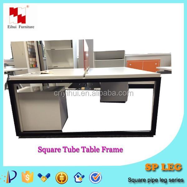 U shaped metal steel office furniture table leg designs - Metal office furniture manufacturers ...