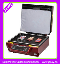 JESOY New Product 3D Sublimation Heat Transfer Machine For Sublimation Cell Phone Case Printing