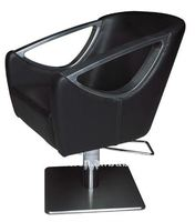 Black hair salon barber chair of salon furniture