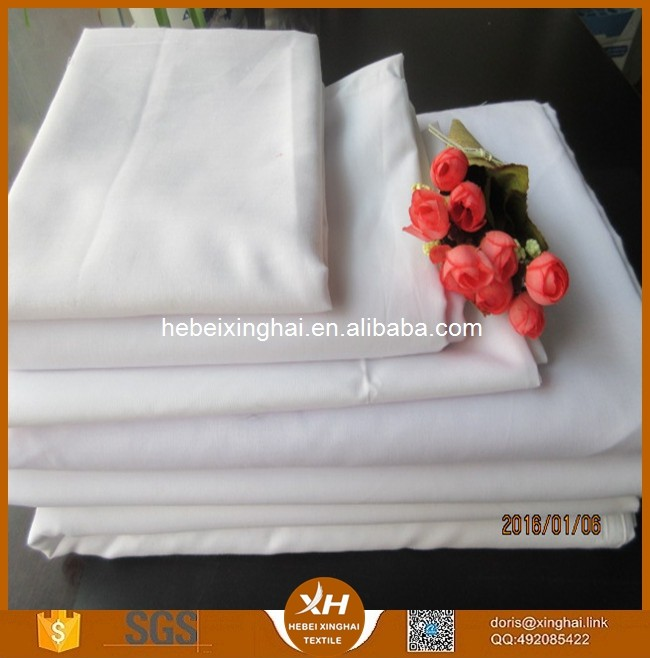 Polyester, cotton,blend fabric 80/20 45x45 133x72 for t shirt fabric