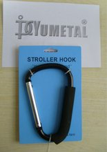 Stroller Snap Hook Black