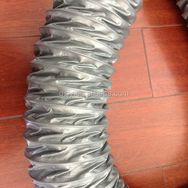 10inches flexible aluminum insulated foil ducting made from virgin raw materials