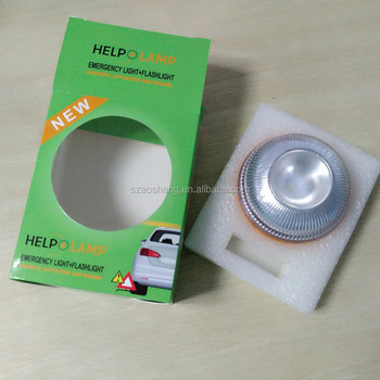With magnet LED emergency lights for vehicle