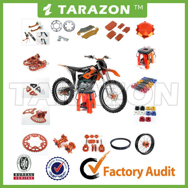 TARAZON brand high quality CNC KTM spare parts for offroad