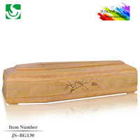 JS-BG130 popular style paulownia wood coffin pillow