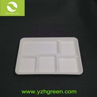 Microwave oven plastic fast food baking tray