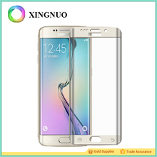 3D Color Kristall Liquid Nano Anti Shock Film Printed Mobile Tempered Glass S7 Edge Screen Protector
