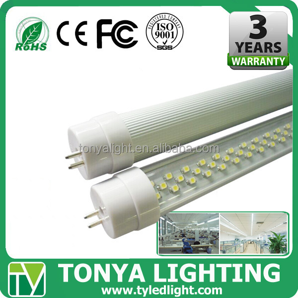 high lumen 4ft t8 LED tube light 1500mm 18Watt color changing fluorescent tubes