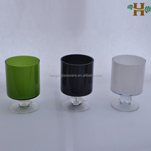 Footed stained glass vases wholesale