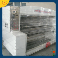 semi auto lead edge feeding rotary die cutting /corrugated carton boxes die cutter machine