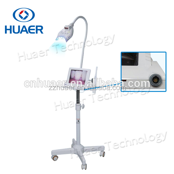 Dental Supply Teeth Whiten Cold Blue Laser Lamp Machine with Intraoral Camera