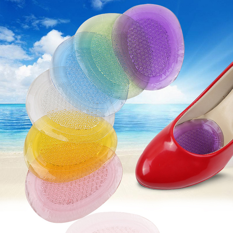 high heel shoes forefoot massage pain relief silicone stick on foot pads