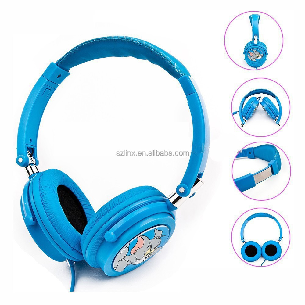 2015 changing fancy color headphone for children with competitive price