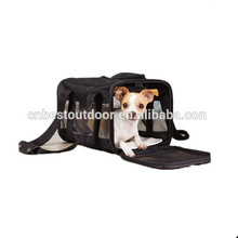 Soft-Sided Pet Travel Carrier dog color strong double expandable