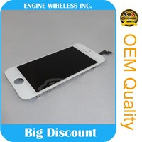 100% original factory price for apple iphone 5s lcd screen assembly , for iphone 5s lcd touch screen digitizer