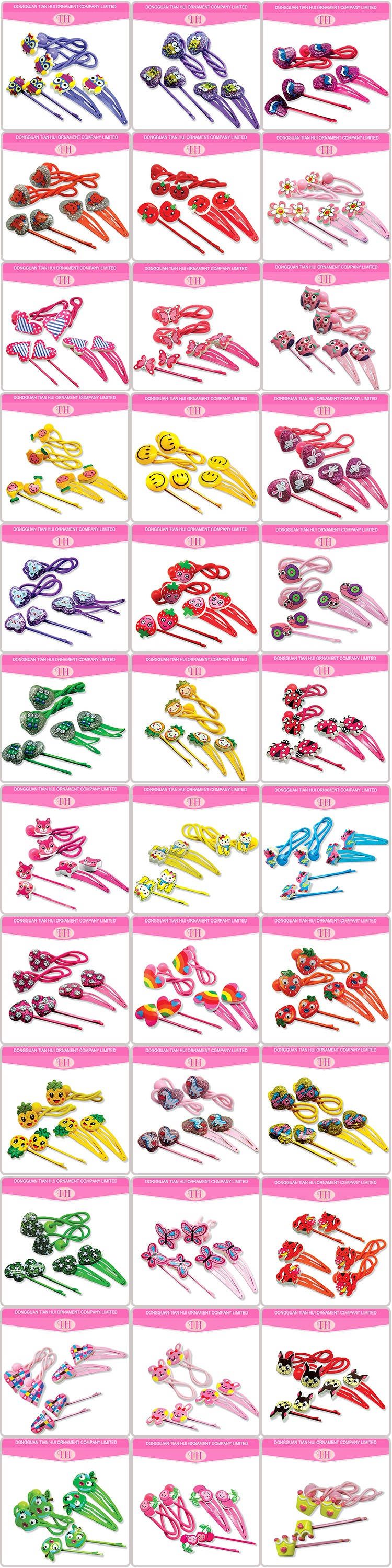 Factory best price beautiful flower wholesale hair accessories for women hair