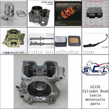 LC135 Cylinder Head Kit Loncin Motorcycle Parts