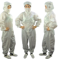 Cleanroom Cotton ESD Jumpsuit