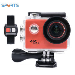 OEM F71 4k sport camera xdv 30 m waterproof wifi function with remote watch