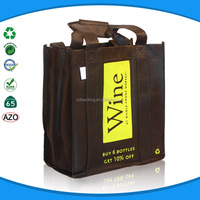 non woven wine tote bag 6 bottle wine tote bag for promotion