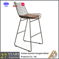 modern bar stool in steel designs