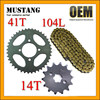 for Honda CD70 Motorcycle Parts Moped Rear Wheel Sprocket