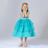 Tiffiny blue child costume princess dress