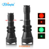 Brinyte B158 1000 Lumens 18650 Aluminum Zoomable Green Blue Red Flashlight for hunting