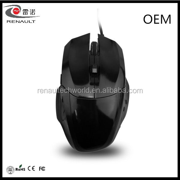 6 Button PC USB Optical Wired Mouse Gaming Mouse